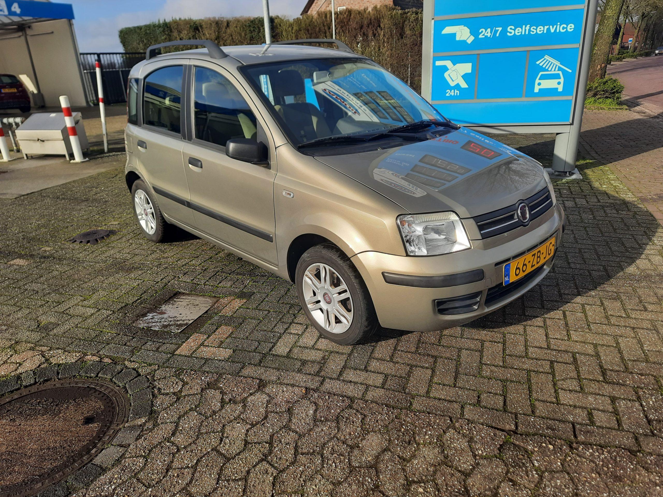 Fiat Panda 1.2  2007 ECC (VERKOCHT)